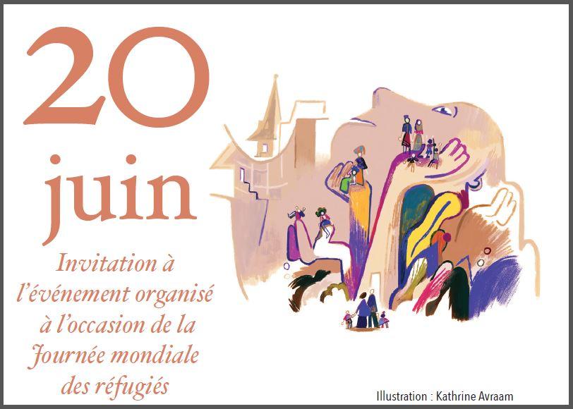 Journée mondiale des réfugiés à Angoulême