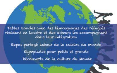 Journée mondiale des réfugiés à Chambon-le-Château