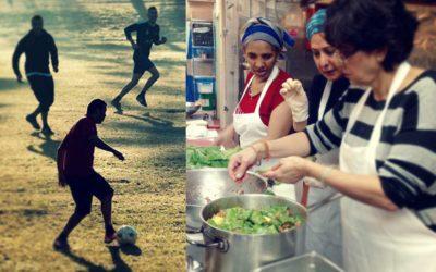 Cuisine du monde et football pour la Journée mondiale des réfugiés à Évreux