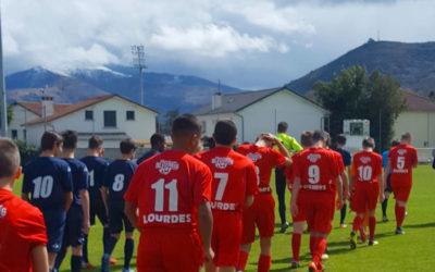 Tournoi de football à Lourdes