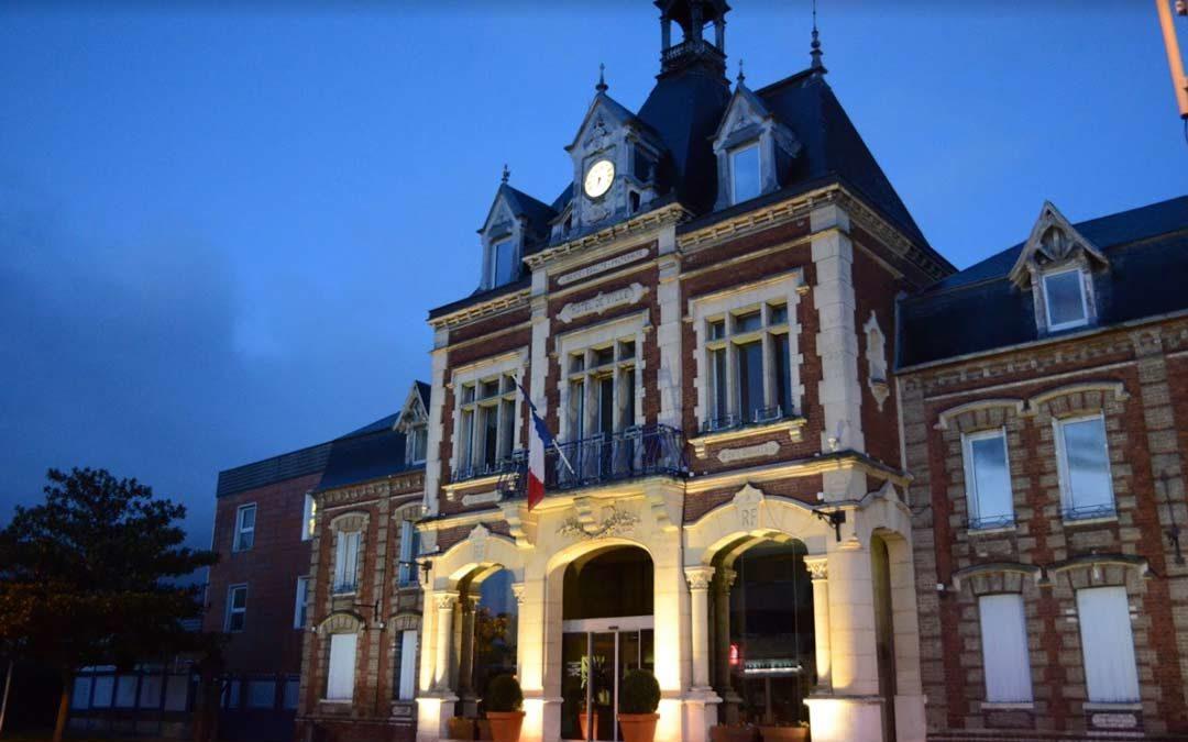 Inauguration du centre d'accueil de Saint-Étienne-du-Rouvray