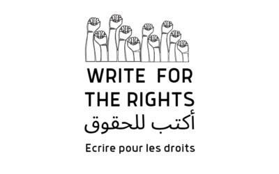 Écrire pour les droits
