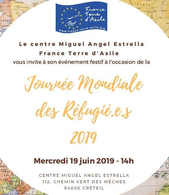 Journée mondiale des réfugiés à Créteil