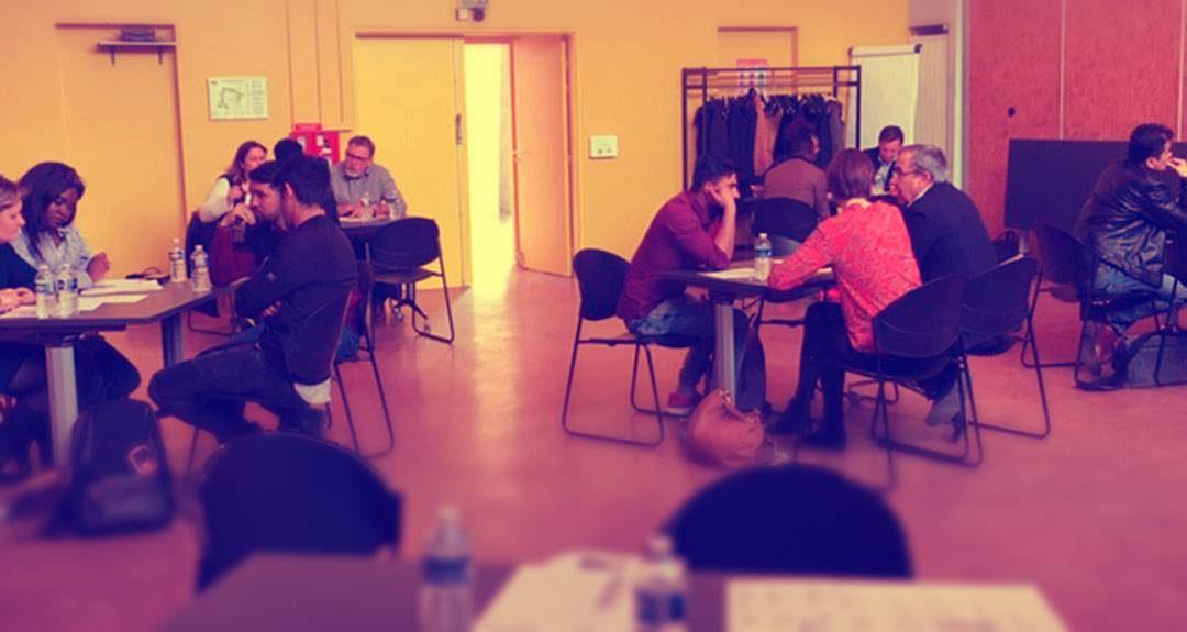 Formation des réfugiés à Lieusaint