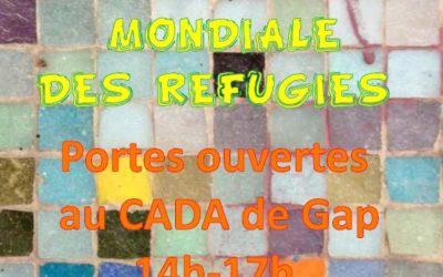 Journée mondiale des réfugiés à Gap