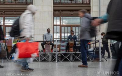 Concert de percussions africaines