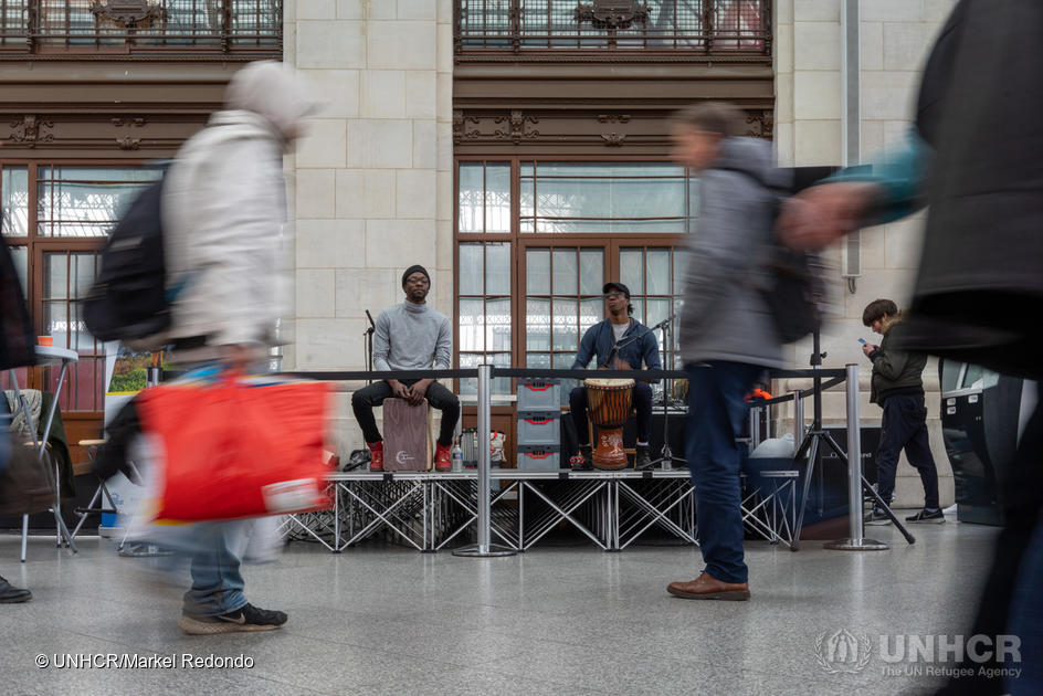 Concert de percussions africaines