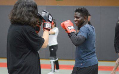 Célébrons ensemble la Journée Mondiale des Réfugiés avec une initiation à la boxe en plein air