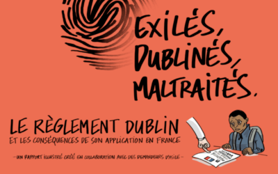 «Exilés, Dublinés, Maltraités», le rapport dessiné du règlement Dublin