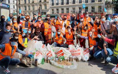 Grand ramassage de déchets à Magenta