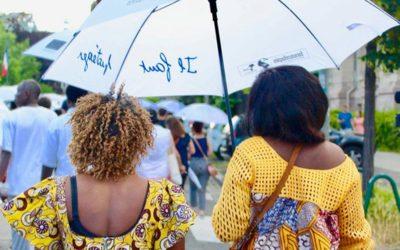 Marche des Parapluies à Strasbourg
