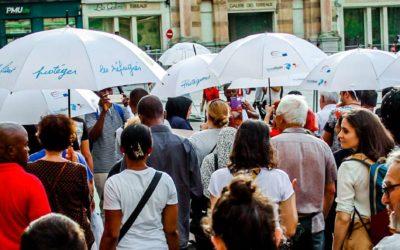 Marche des Parapluies à Clermont-Ferrand