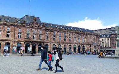 Flashmob place Kléber à Strasbourg
